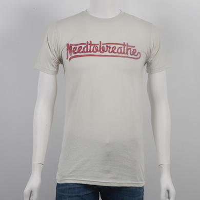 Needtobreathe Classic Script Slim Fit T-Shirt