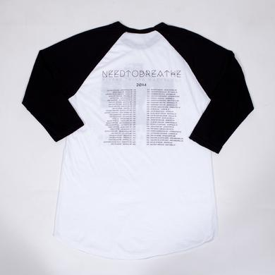 Needtobreathe Eagle Raglan Tour T-Shirt