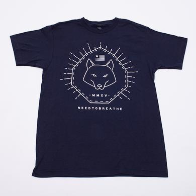 Needtobreathe Abstract Howl T-Shirt