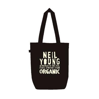 Neil Young Organic Earth Tote Bag