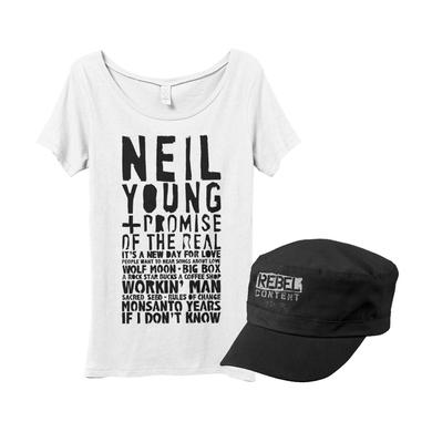 Neil Young Women's Song List Bundle