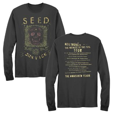 Neil Young Seed Justice Long Sleeve Unisex T-shirt