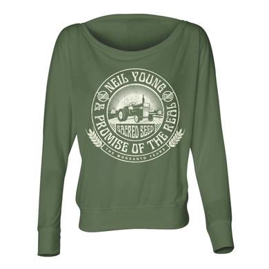 Neil Young Tractor Seal Women's Long Sleeve T-shirt