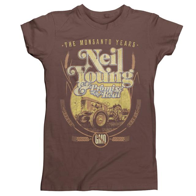 Neil Young Sun Sprouts ORGANIC Womens T-Shirt
