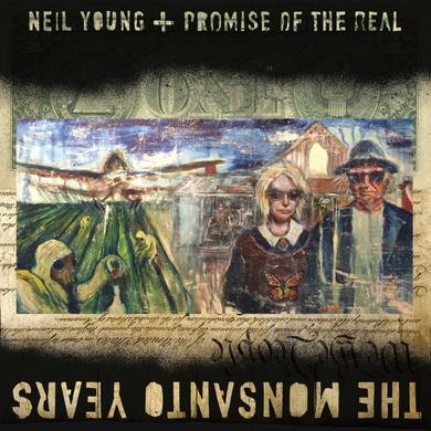 Neil Young The Monsanto Years Vinyl