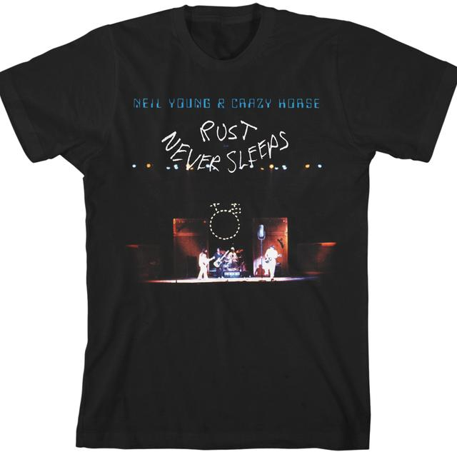 Neil Young Rust Never Sleeps ORGANIC Unisex T-Shirt