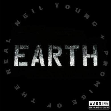 Neil Young Limited Edition Poster + Earth 3LP Vinyl