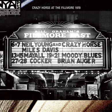Neil Young Live At The Fillmore East CD