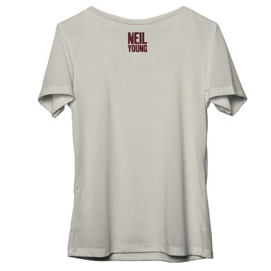 Neil Young 100% Organic Cotton Protect Womens Scoop Neck T-Shirt