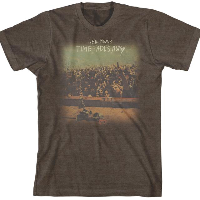 Neil Young Time Fades Away 100% Organic Cotton T-Shirt