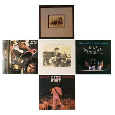 Neil Young Official Release Series 8.5-12 Numbered Limited Edition Box Set