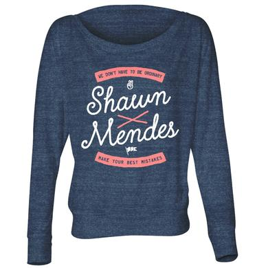 Shawn Mendes Shirt | Best Mistake Long Sleeve