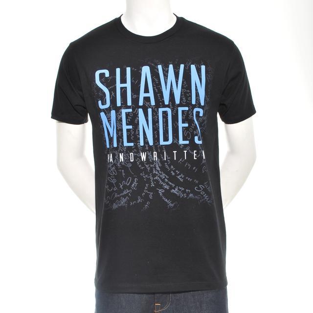 Shawn Mendes Handwritten Tour Merch