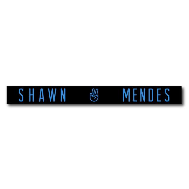 Shawn Mendes Blue Peace Emoji Bracelet