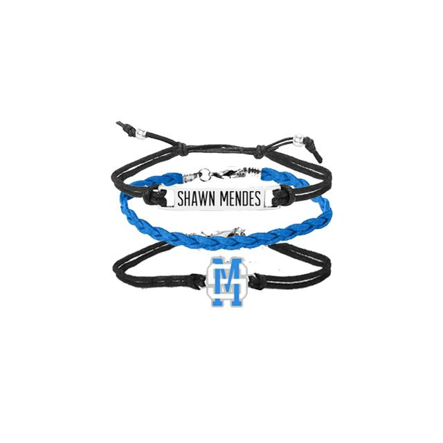 Shawn Mendes SM Branded Bracelet Set