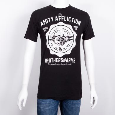 The Amity Affliction Brothers Crest T-Shirt