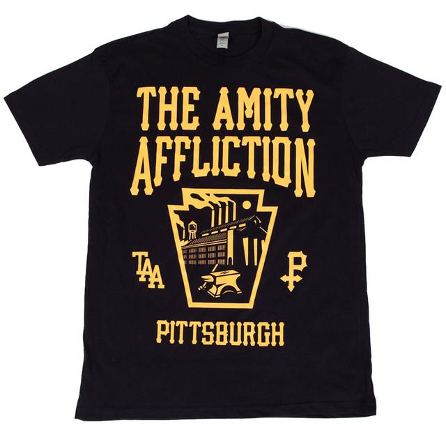 The Amity Affliction Pittsburgh T-Shirt