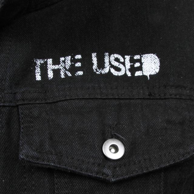 The Used Burning Bridges Denim Jacket