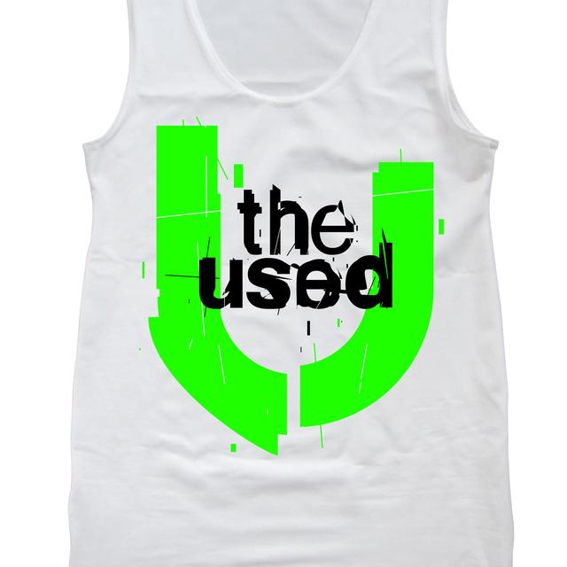 The Used U Logo Lime Tank