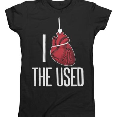 The Used Heartfelt Juniors T-Shirt