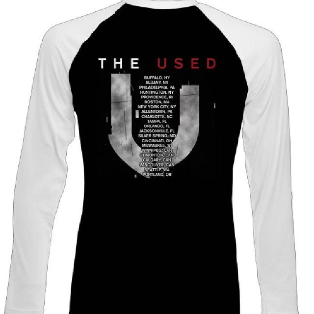 The Used Solitaire Tour Raglan T-Shirt