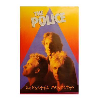 The Police Zenyatta Mondatta Poster