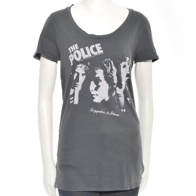 The Police Women's Scoop Neck Reggatta de Blanc T-Shirt