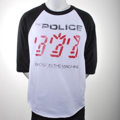 The Police Ghost In The Machine Raglan