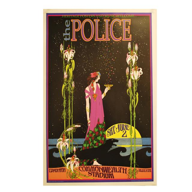 The Police Police Commonwealth Bob Masse Poster