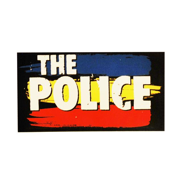 The Police Synchronicity Stripes Sticker