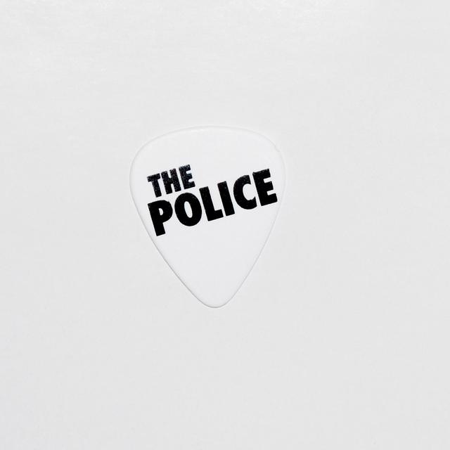 The Police Logo Guitar Pick