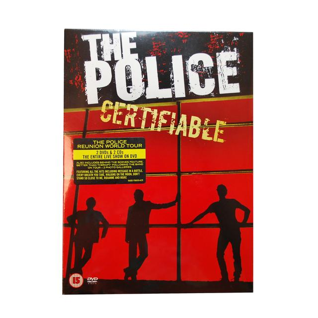 The Police Certifiable - Live In Buenos Aires 2 DVD & 2 CD
