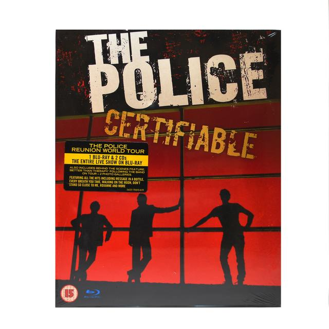 The Police Certifiable - Live In Buenos Aires Blu-Ray/CD
