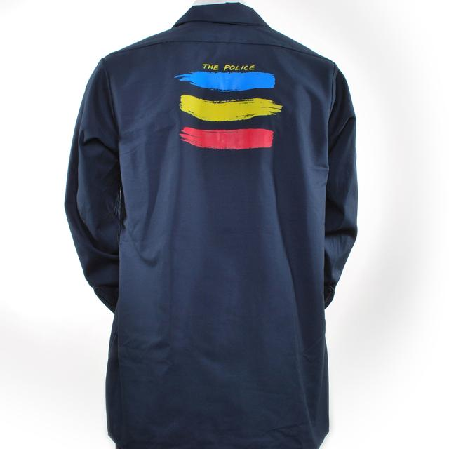 The Police Synchronicity 1983 Workshirt (Navy Blue)