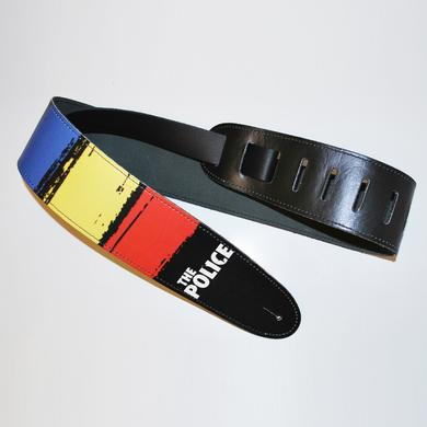 The Police Leather Synchronicity Guitar Strap