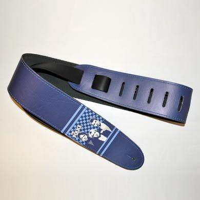 The Police Leather Checkerboard Guitar Strap