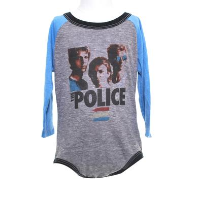 The Police Synchronicity Long Sleeve Onesie