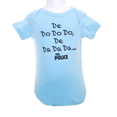 The Police De Do Do Do Onesie (Blue)
