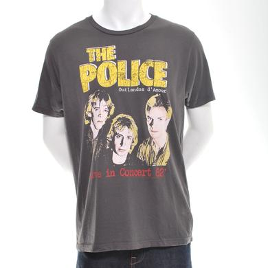 The Police Live In Concert '82 T-Shirt