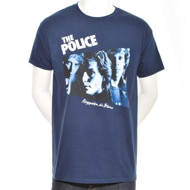 The Police Reggatta de Blanc Album Cover T-Shirt