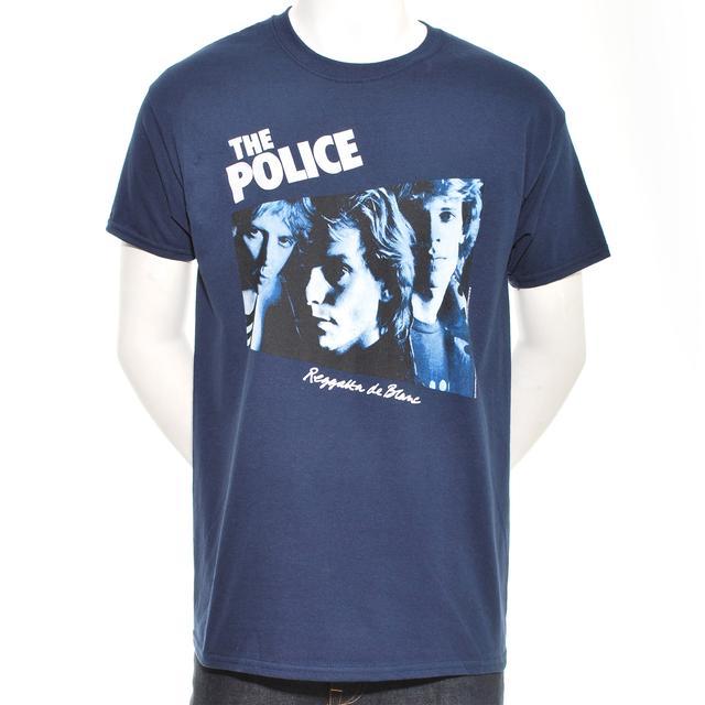 The Police Reggatta de Blanc Album Cover T-Shirt