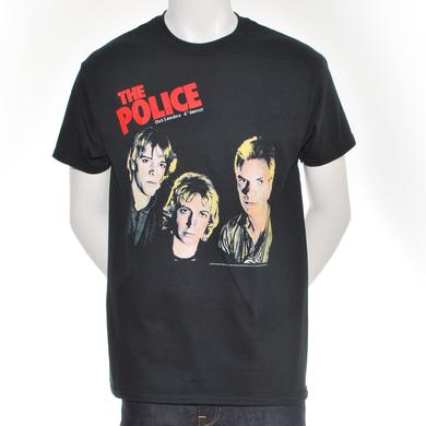 The Police Outlandos Heads T-Shirt