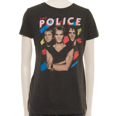 The Police Kids Synchronicity Stripes Portrait T-Shirt (L)