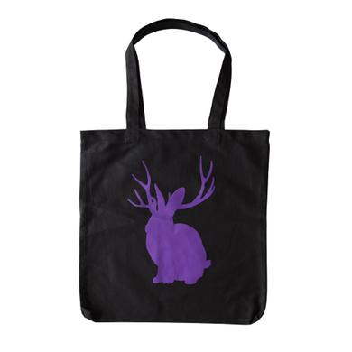 Miike Snow Purple Jackalope Tote