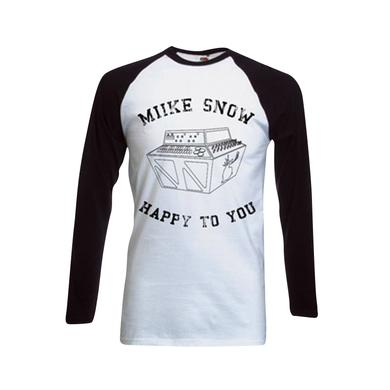 Miike Snow Tour Dates 3/4 Sleeve Tee