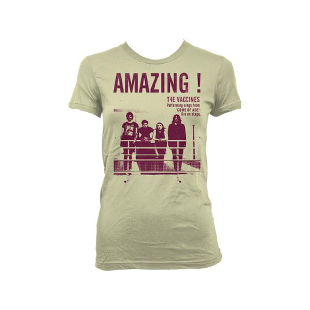 The Vaccines Amazing Girls T-Shirt