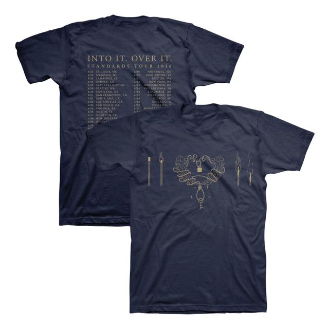 Into It Over It Standards Tour Tee