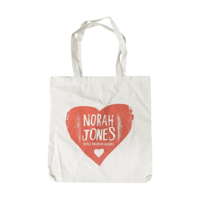 Norah Jones Folk Heart Tote Bag