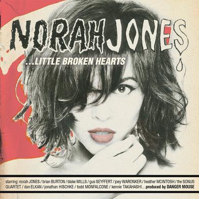 Norah Jones Little Broken Hearts CD