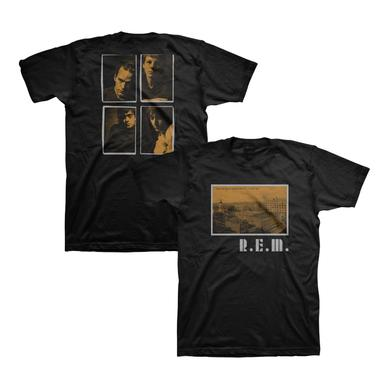 R.E.M. Athens Postcard Throwback Tee